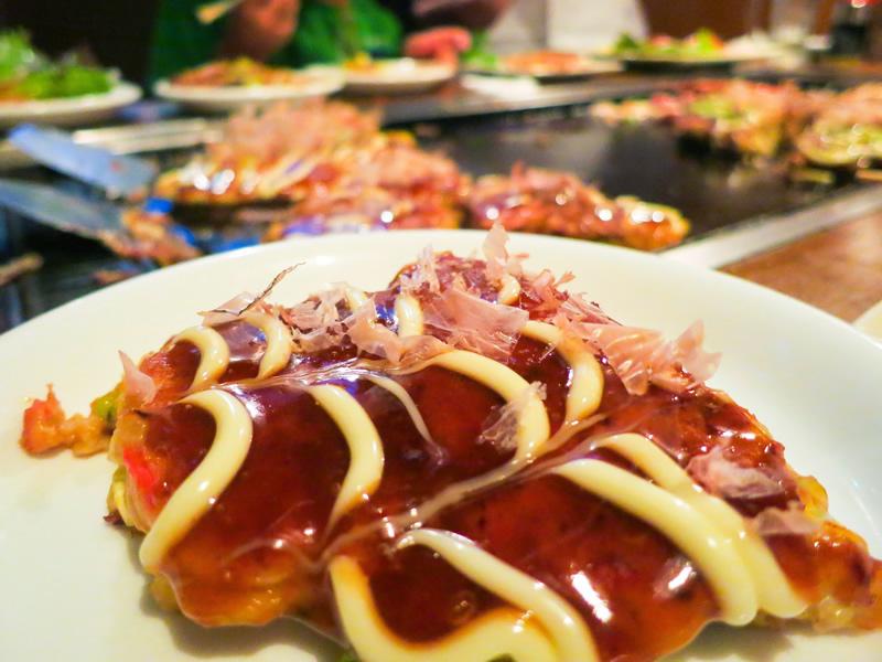 明太チーズ天玉(お好み焼き)