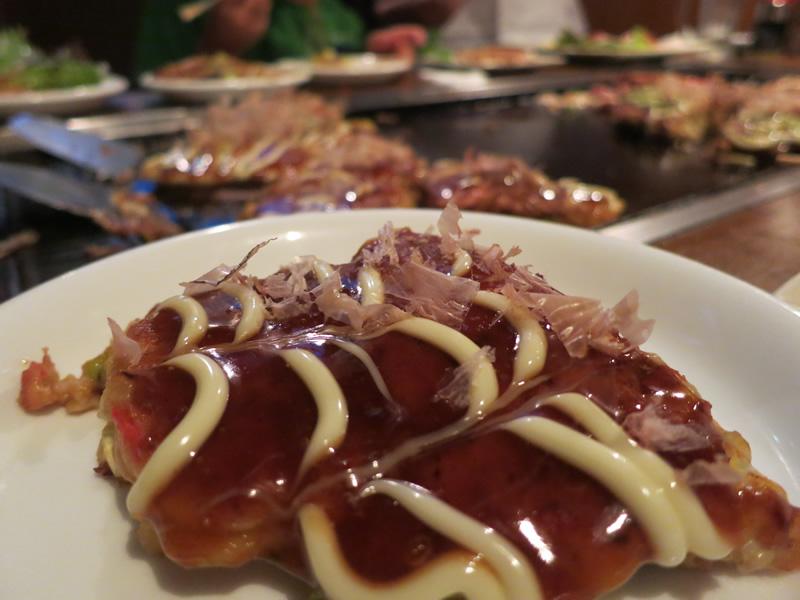 明太チーズ天玉(お好み焼き)ビフォー写真